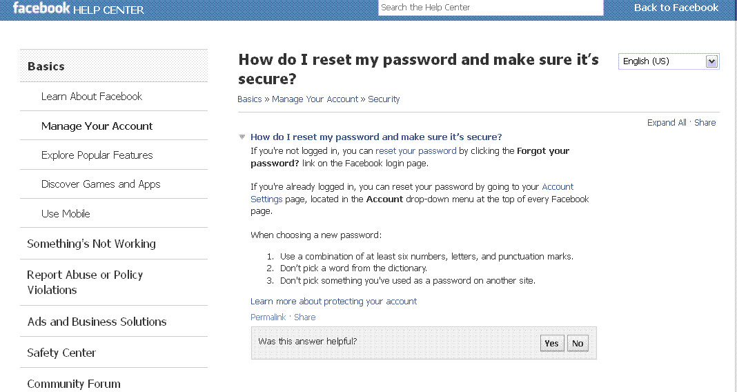 how to set my the facebook on my computer