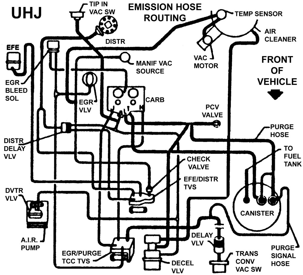 i need vacuum hose diagram or photos
