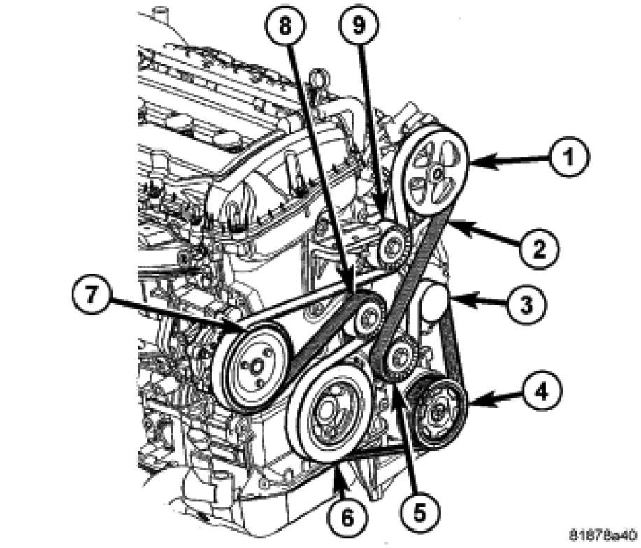 2013 Chrysler 200 24 Serpentine Belt Diagram