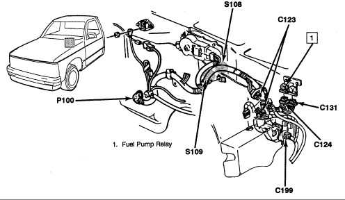 Mercury Tachometer Wiring Harness Diagram also Torqueflites also 1999 Ford Ranger Engine Diagram additionally Chevy Cooling System Diagram likewise Chevrolet Blazer 2002 Chevy Blazer 11. on oil pressure switch location 1994 chevy truck