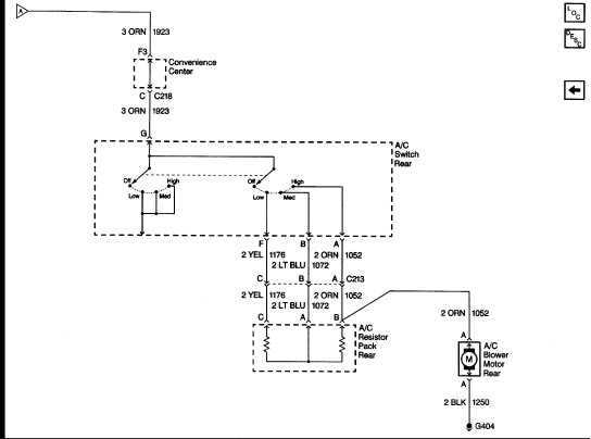 wiring diagram for front/rear air conditioner? air not ... 1999 suburban air conditioning wiring diagram air conditioning wiring diagram 1964 nova