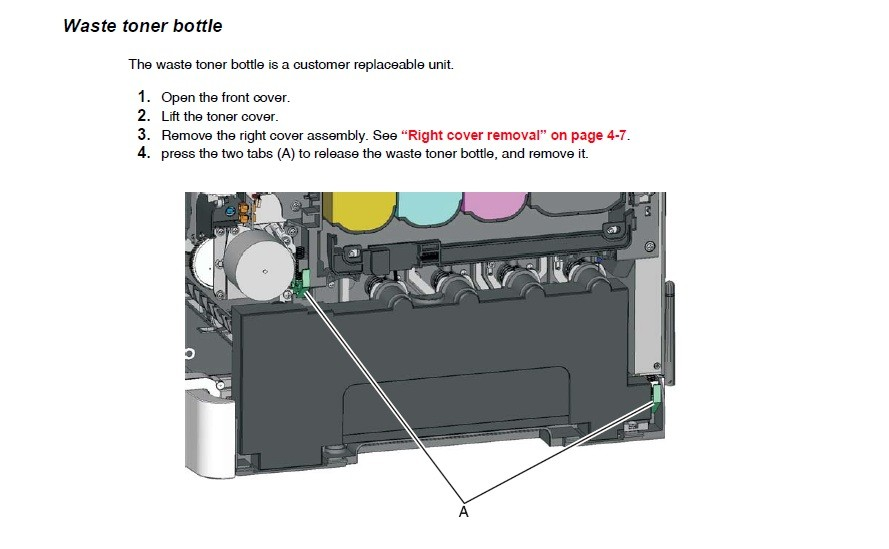 waste toner box