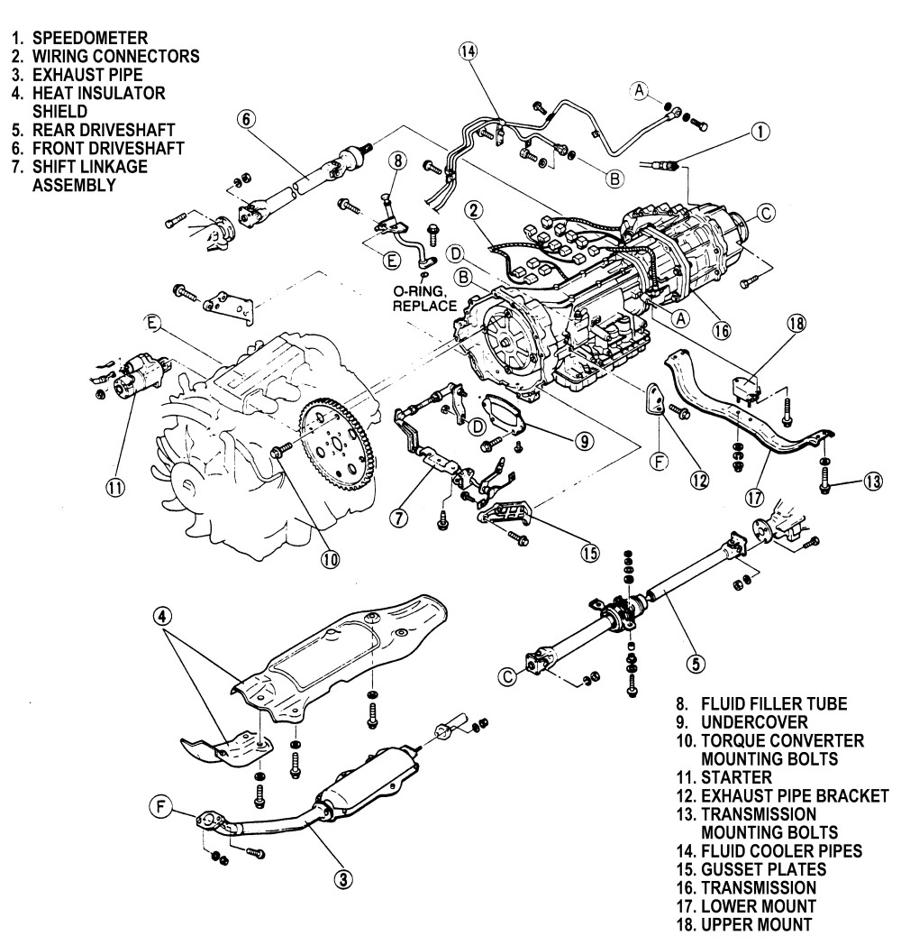 service manual  how to fix transmission linkage on a 2001 honda odyssey