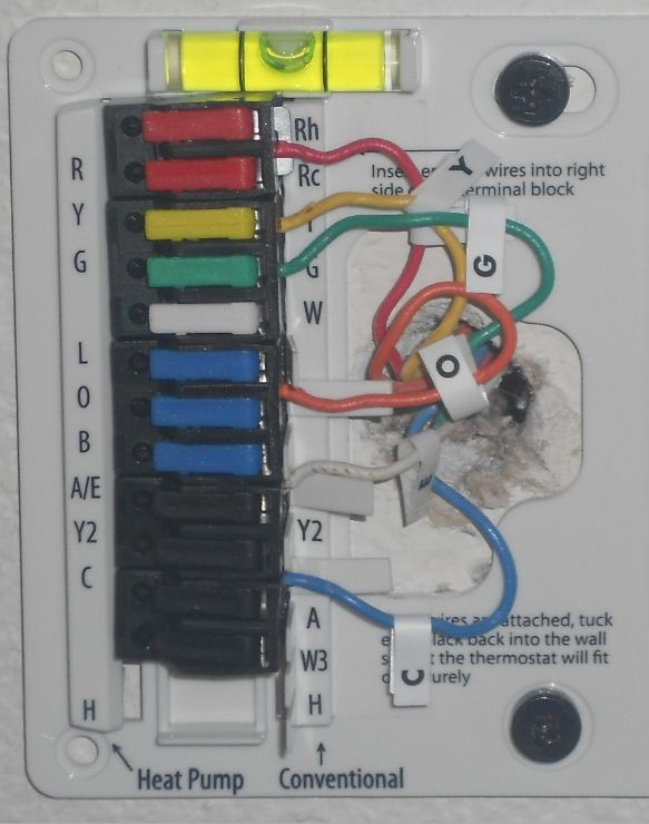 Wiring Diagram For Hunter 44155c Thermostat : Hunter thermostat wiring diagram coleman