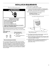 whirlpool gold series dehumidifier manual