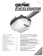 Excelerator Wiring Diagram Genie
