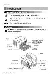 sharp comfort touch air conditioner manual