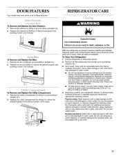 Kitchen Aid Refrigerator Freezer Drawer Handle Loose
