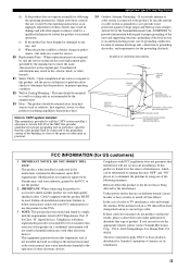 Receiver troubleshooting problems yamaha Steps to