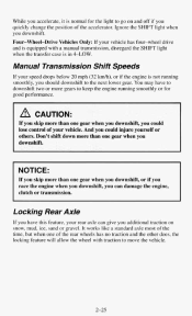 driving manual transmission in snow
