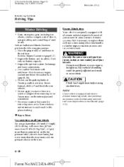 mazda 2 2010 owners manual