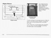 what fuses control keyless entry 2003 buick rendezvous. Black Bedroom Furniture Sets. Home Design Ideas