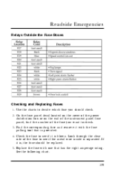 Ford Contour Owners Manual Cb D