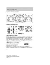 replace dash warning lights   burn