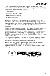 An analysis of the facts on the problems of polaris