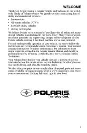 2007 polaris ranger owners manual