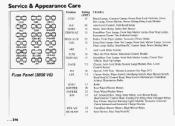 1994 Trans Sport Fuse Box 1994 Pontiac Trans Sport