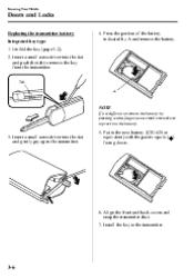 how to change mazda 3 key battery