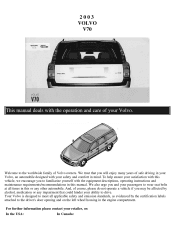 2003 Volvo V70 Problems Online Manuals And Repair Information