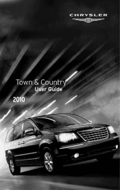 Uconnect 2010 Chrysler Town Amp Country Support border=