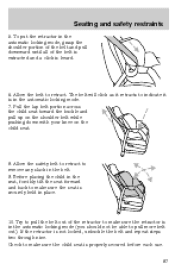 removal instructions for a 1998 lincoln continental. Black Bedroom Furniture Sets. Home Design Ideas