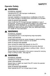 2006 polaris hawkeye repair manual